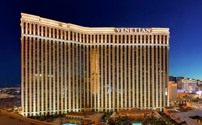 Las Vegas Sands Corp.'s properties include The Venetian Resort Las Vegas. The company has put up $17 million that could be used on a campaign for expanding casinos into North Florida, potentially including Jacksonville.