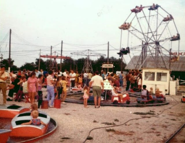 Kiddieland, formerly located on North Henderson Street in Galesburg.