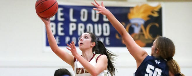 Austin College senior Ally Longaker was named the Southern Collegiate Athletic Conference Woman of the Year, an honor she shares with Isabelle Aragon-Menzel of Colorado College.