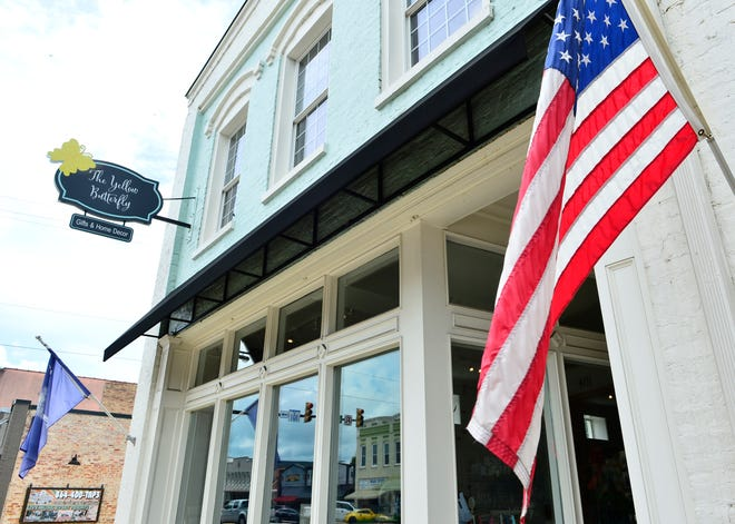 Debbie Davis is the owner of The Yellow Butterfly in downtown Woodruff.