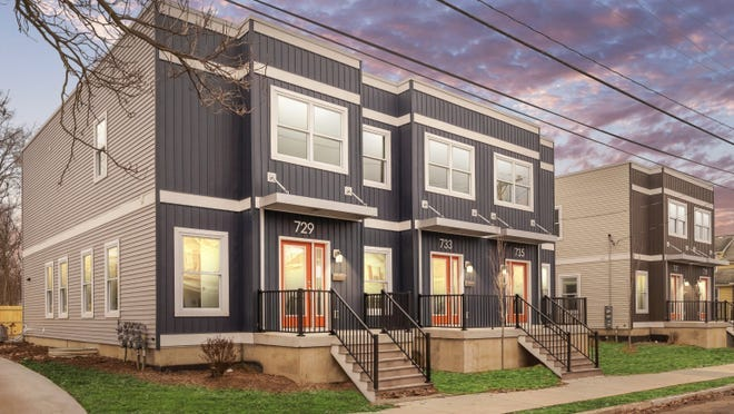 A rendering provided to the city of Holland by Jubilee Ministries and Lakeshore Habitat for Humanity, illustrating its concept for 36th Street.