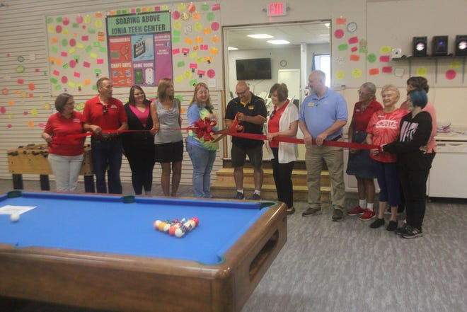 A ribbon-cutting for the Soaring Above Ionia Teen Center's new location at 318 S. Jefferson St. in Ionia took place Wednesday, July 14.