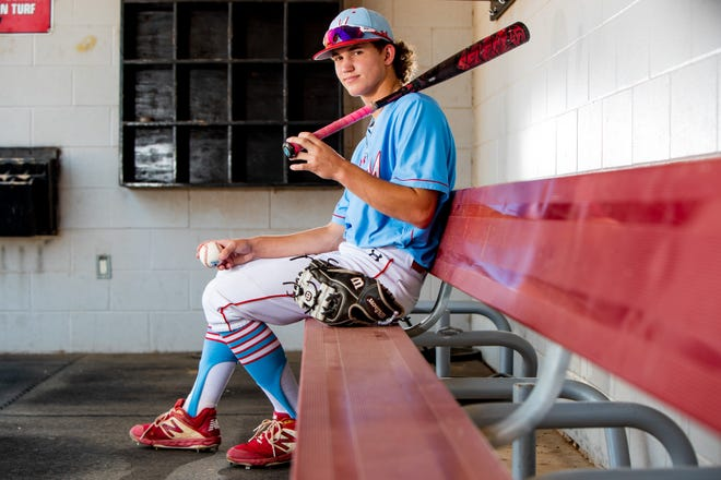 Monterey's Jackson Jolly is the Lone Star Varsity newcomer of the year.