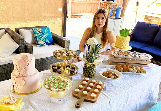 Emma Isakoff, former head pastry chef at The Colony, has opened her own business, Pastry and Pineapples.
