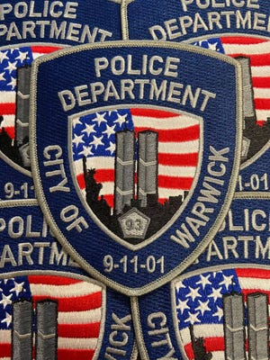 The Warwick Police Department's new patch commemorates Sept. 11 and raises money for the Tunnel to Towers Foundation.