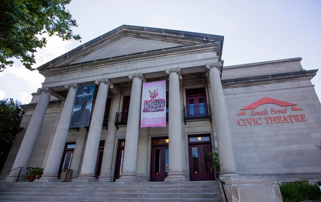 South Bend Civic Theatre is located at 403 N. Main St., South Bend.