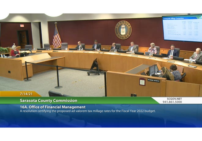 The Sarasota County Commission, on a 3-2 vote, approved moving a dedicated millage for a mental health district to the September budget hearings. Commissioners Ron Cutsinger and Chris Ziegler voted against the motion because they wanted to see the money come from existing funding options.
