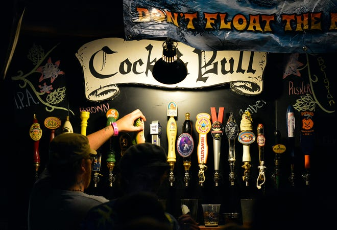 Sarasota brewery Big Top Brewing Company plans to move into the space of long-running craft beer bar Cock & Bull, pictured here. Big Top will lease the space from Cock & Bull's owners and operate it as a taproom.