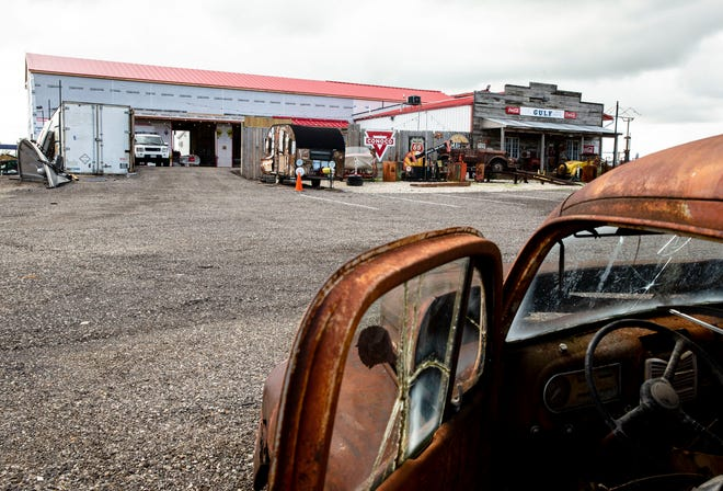 Construction has begun on an expansion of the Route 66 Motorheads Bar And Grill will feature a stage with a video board that will be 13 feet high and 21 feet wide. The 5,000-square foot addition that will also feature open garage type doors that lead out to an open area featuring historic signs.