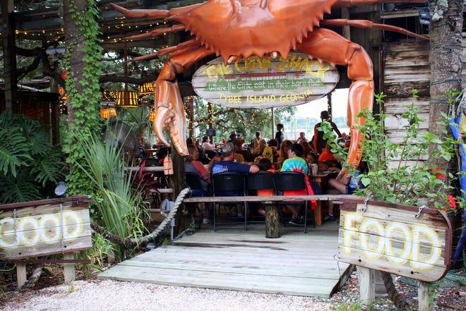 Το Blue Crab στο Crab Shack διατίθεται σε τυποποιημένα μεγέθη.
