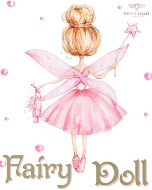 """Kansas Ballet students will perform """"Fairy Doll"""" at 6:30 p.m. July 30 during the summer performance."""