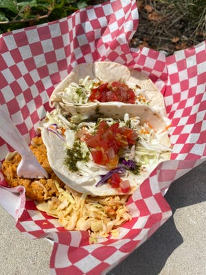 Chicken Feta Tacos from Bobby's Food Co. is the perfect meal to grab when you are on the go and needing a quick lunch meal.