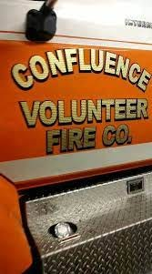 An image of a Confluence Volunteer Fire Co. vehicle.