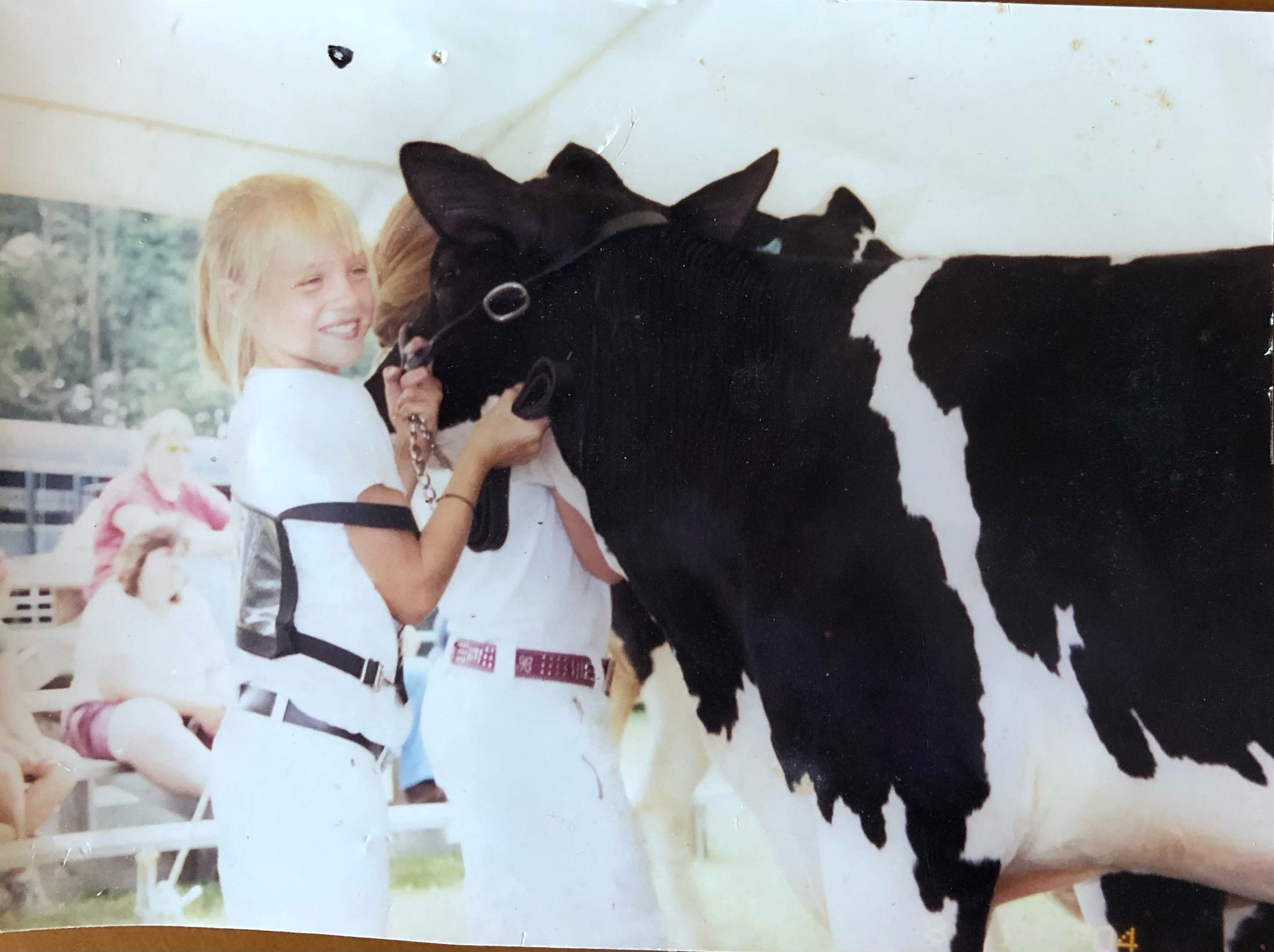 Before the track meets and Summer 2020 Olympics run, Elle Purrier St. Pierre would compete in 4H livestock showings.