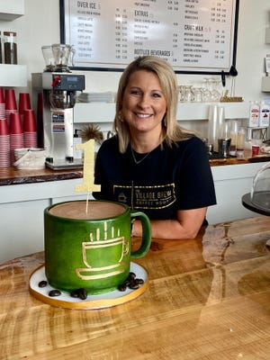Jennifer Chandler, a Village of Piketon councilwoman, started The Village brew as a pop-up shop during the summer of 2020. Inspired by the local coffee shops she visits while traveling, Chandler decided to open one of her own. On Tuesday, July 13, 2021, she celebrated one year of business.