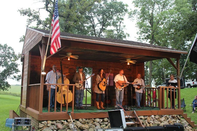 The 40th Annual Backbone Bluegrass Festival will be held July 23-25 at Backbone State Park (Iowa's oldest state park) in Strawberry Point.