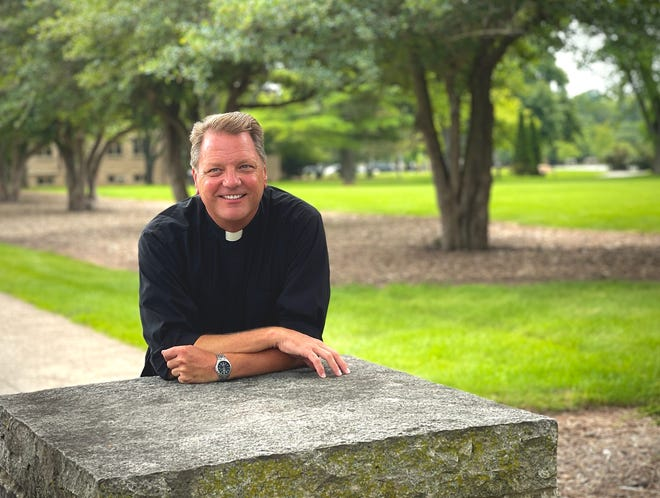 The Rev. Jay Fostner, who left his position at St. Norbert College for a sabbatical after protests over his handling of campus sexual misconduct complaints, was elected to the college's Board of Trustees in June.