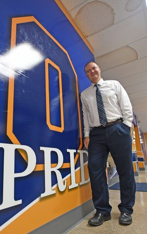Keith Strickler will move from Ontario Middle School principal to the Ontario School District's new superintendent in 2022.