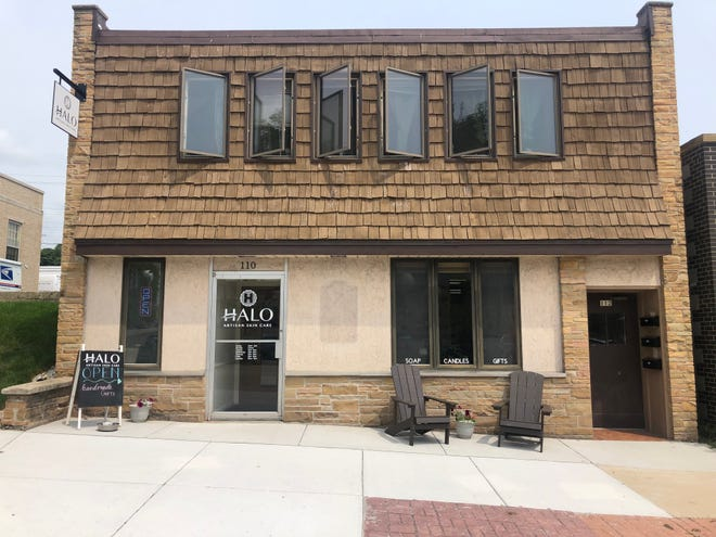 Halo Artisan Skin Care, 110 East Main St., is open in Port Washington. Owner Stacie Cherubini hopes to host a grand opening in September.