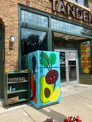 The MKE Community Fridge opened its doors last August in front of The Tandem with a mission to combat food insecurity in the city. Now, they're being asked to leave by the building's landlord.