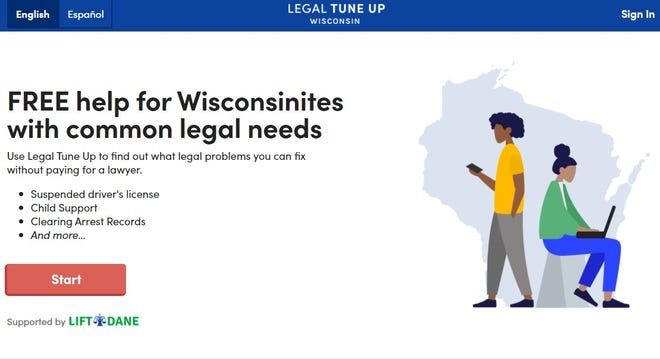 The Legal Tune-up Tool is open to all Wisconsin residents.