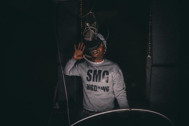 Moneybabiii is a Montgomery native rap artist who has his own SMG label and clothing line. He's working on a new album to be released in August.