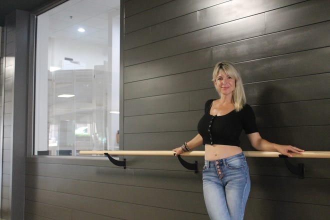 Alexis Sobeski owns iBalance, a new yoga studio and juice bar that's recently opened in downtown Northville.