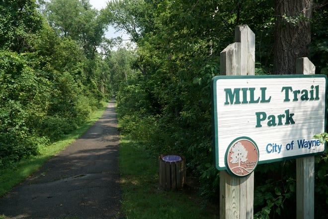 Mill Trail path in Wayne.