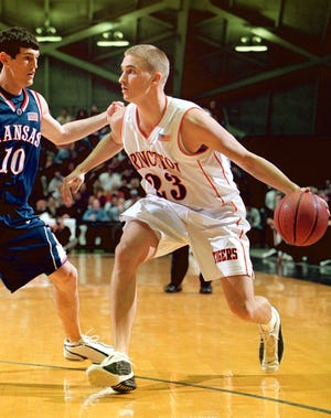 After leading Lebanon to three straight league titles from 1996 to 1998, Mike Bechtold went on to play college basketball at Princeton.