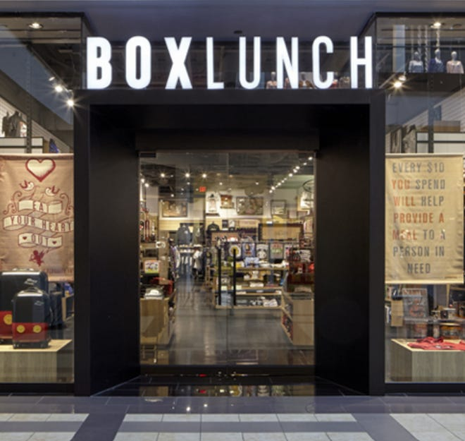 BoxLunch is a merchandise store that gives back arriving soon at Empire Mall