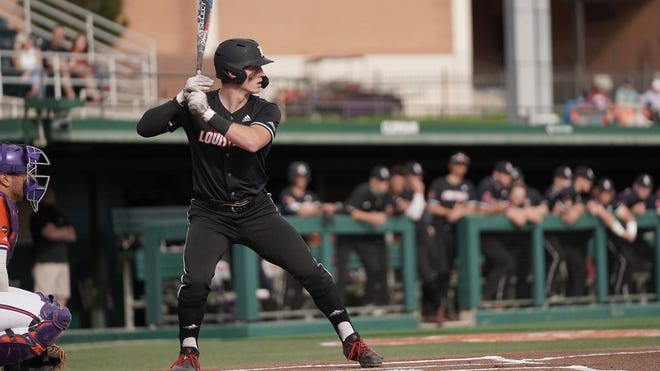 Cooper Bowman batted .293 with 8 home runs for Louisville in 2021