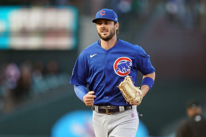 Kris Bryant has played all three outfield positions this season for the Cubs.