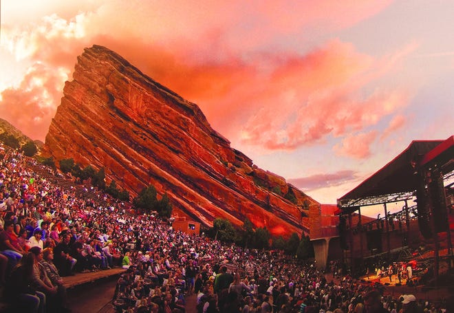 Generations of music fans and musicians have enjoyed performances under the stars at Red Rocks Amphitheatre west of Denver.