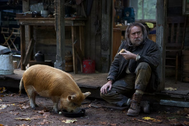 """Nicolas Cage stars as a truffle hunter whose beloved porcine best friend is kidnapped in """"Pig."""""""