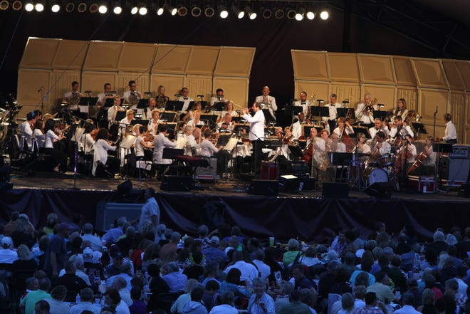 The Lancaster Festival Orchestra during a previous festival.