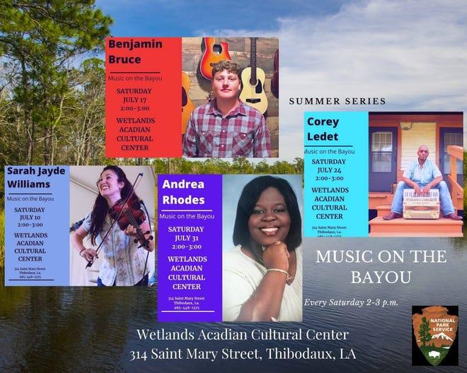 Music on the Bayou in Thibodaux.