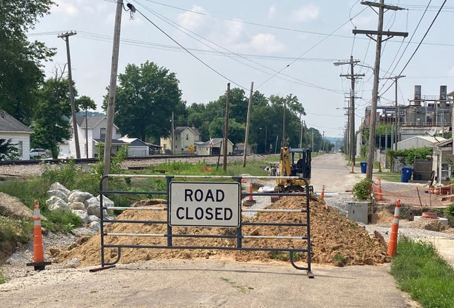 Byesville officials have given Amaazz Construction of New Albany a July 30 deadline to finish the Glass Avenue project to avoid litigation. Village Administrator Brennan Dudley told village council Wednesday that the project is 85% finished and Amaazz crews have been working at the site closed in 2018.