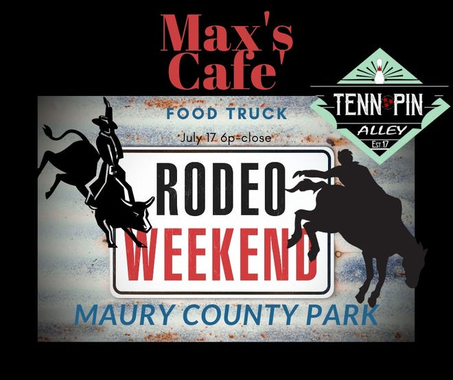 The 17th annual Maury County Sheriff's Rodeo will take place from 6-10 p.m. Saturday at Maury County Park.