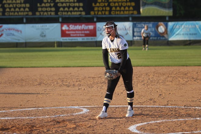St. Amant sophomore pitcher Addison Jackson is the Ascension Parish Pitcher of the Year.