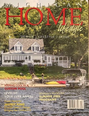 """Daniel Schultz of Monroe wrote an article for the summer edition of """"Michigan Home and Lifestyle"""" magazine."""