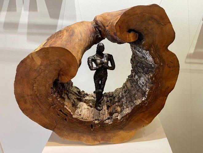 """Eve In Tree Harp,"" Linda Hoffman."