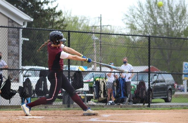 Newton senior shortstop Maddie Gore is the New Jersey Herald's Softball Player of the Year for the 2021 season.