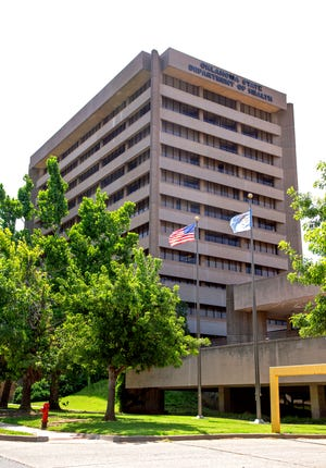 The Oklahoma Department of Public Safety is opening on July 26 a REAL ID megacenter at the former Oklahoma Health Department building photographed in Oklahoma City, Okla. on Thursday, July 15, 2021.