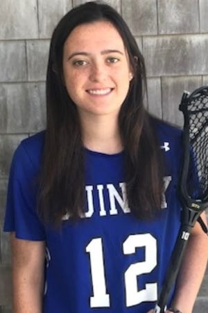 Maddie Bailey of Quincy High has been named to The Patriot Ledger All-Scholastic Girls Lacrosse Team.