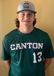 Steve Burbank of Canton High has been named to The Patriot Ledger All-Scholastic Baseball Team.