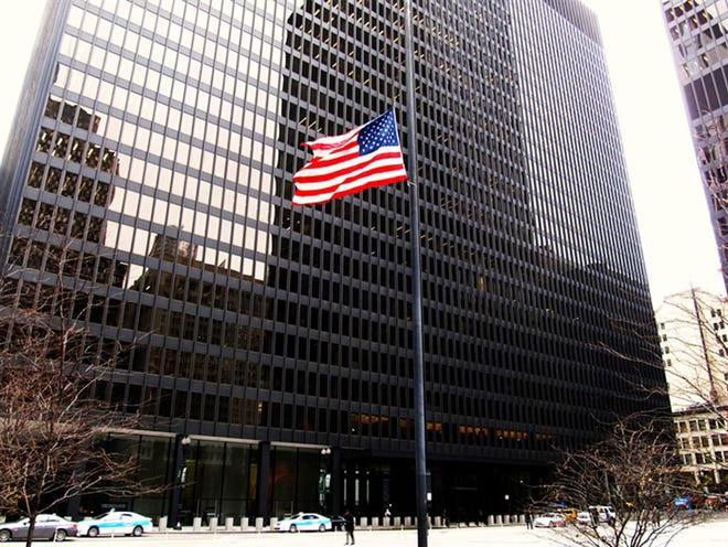 The U.S. federal courthouse in Chicago will be the site of a trial in September involving challenges to the recently-passed legislative redistricting maps in Illinois.