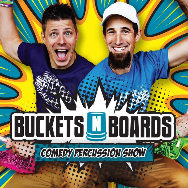 Buckets 'N' Boards comedy show will be featured at an upcoming Back-to-School Bash at Barclay College.