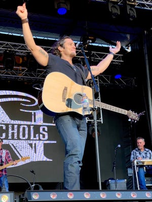 Country music star Joe Nichols will perform Friday at Country Fest 2 at Clay's Park Resort in Lawrence Township. The event runs Thursday through Saturday, and also features Jake Owen, Chris Young and Dierks Bentley.