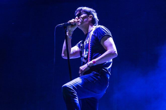 The Strokes – seen here performing on day one of Lollapalooza in Grant Park on Aug. 1, 2019, in Chicago – will headline III Points in Miami.