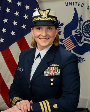 Commander Michele Schallip of the United States Coast Guard.